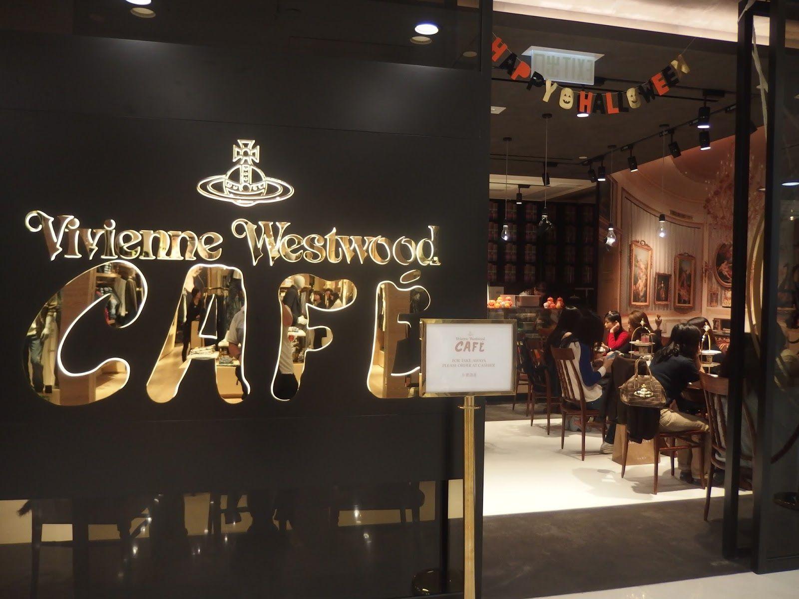 Vivienne Westwood's Cafè in Milan
