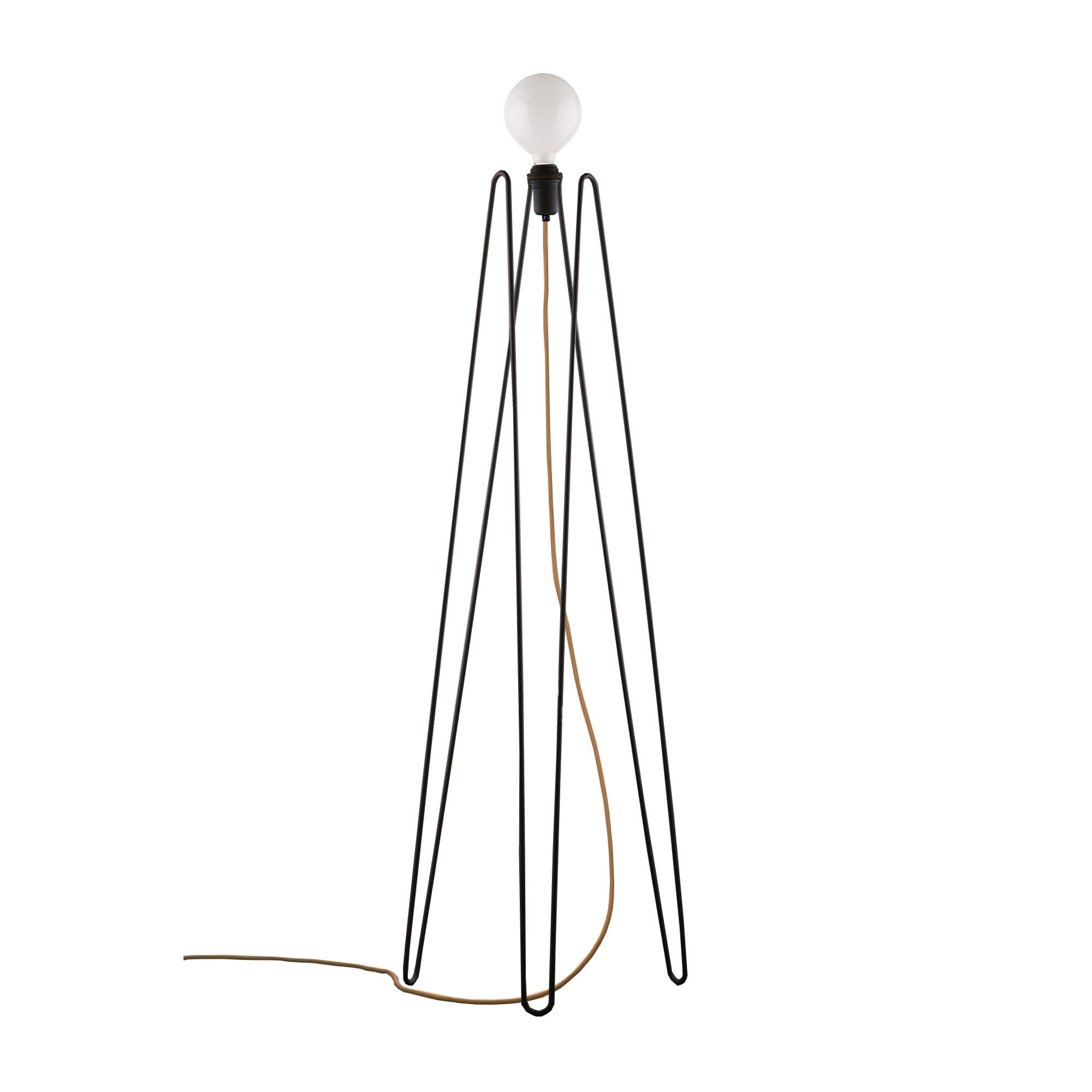 Model M2 Floor Lamp With Cable In Colors