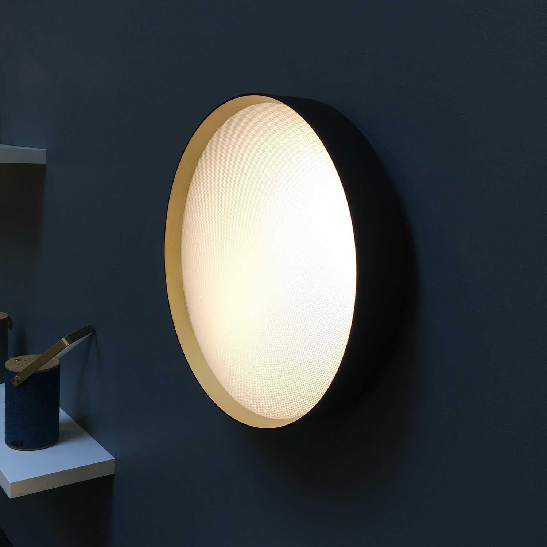 lucia black gold o45 ceiling light