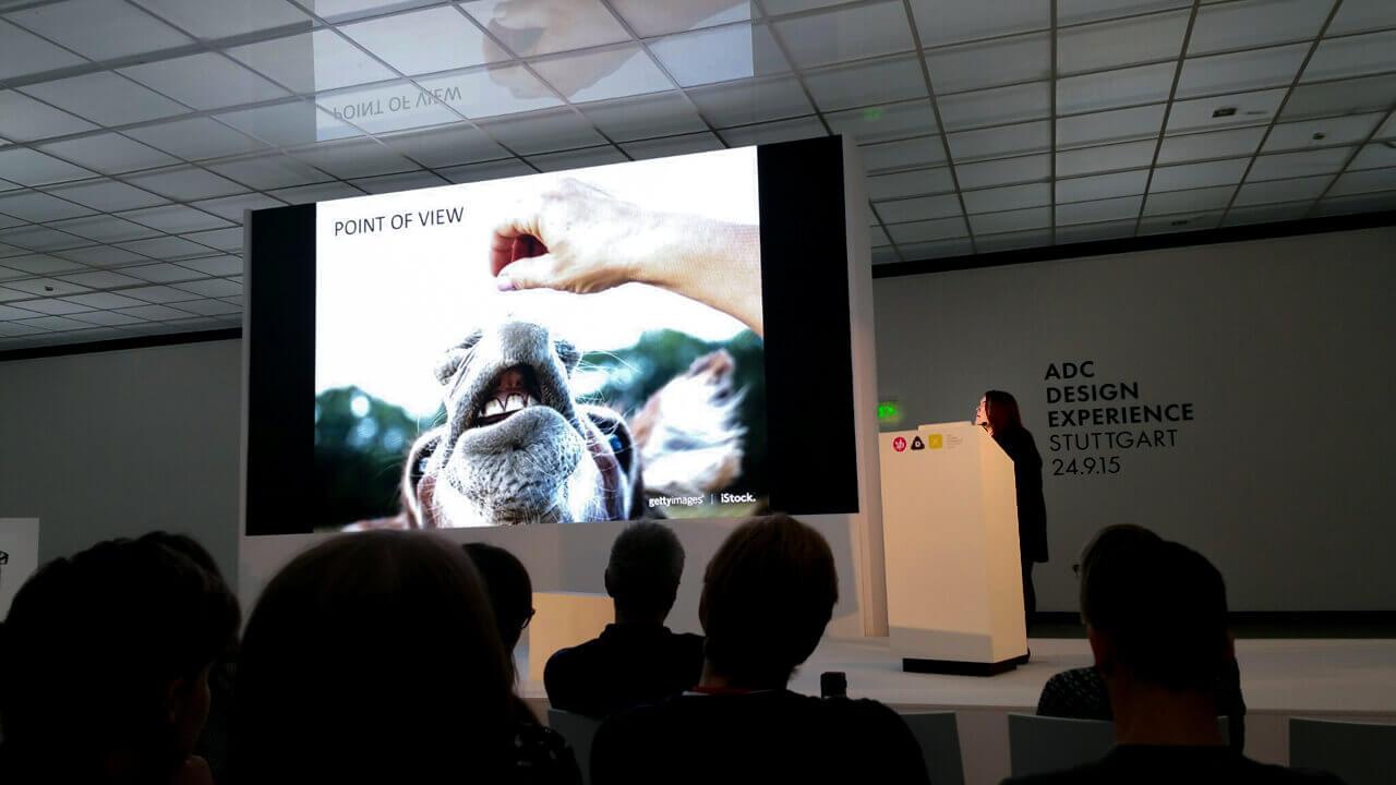 ADC Design Experience 2015 #adcdx15 in #Stuttgart mit Jacqueline Bourke