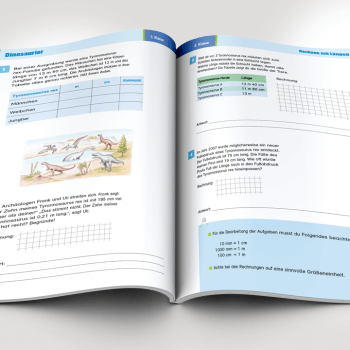 Swabianmedia realisiert DTP für das Lehrbuch So lerne ich am liebsten! 100 Textaufgaben 3./4. Klasse