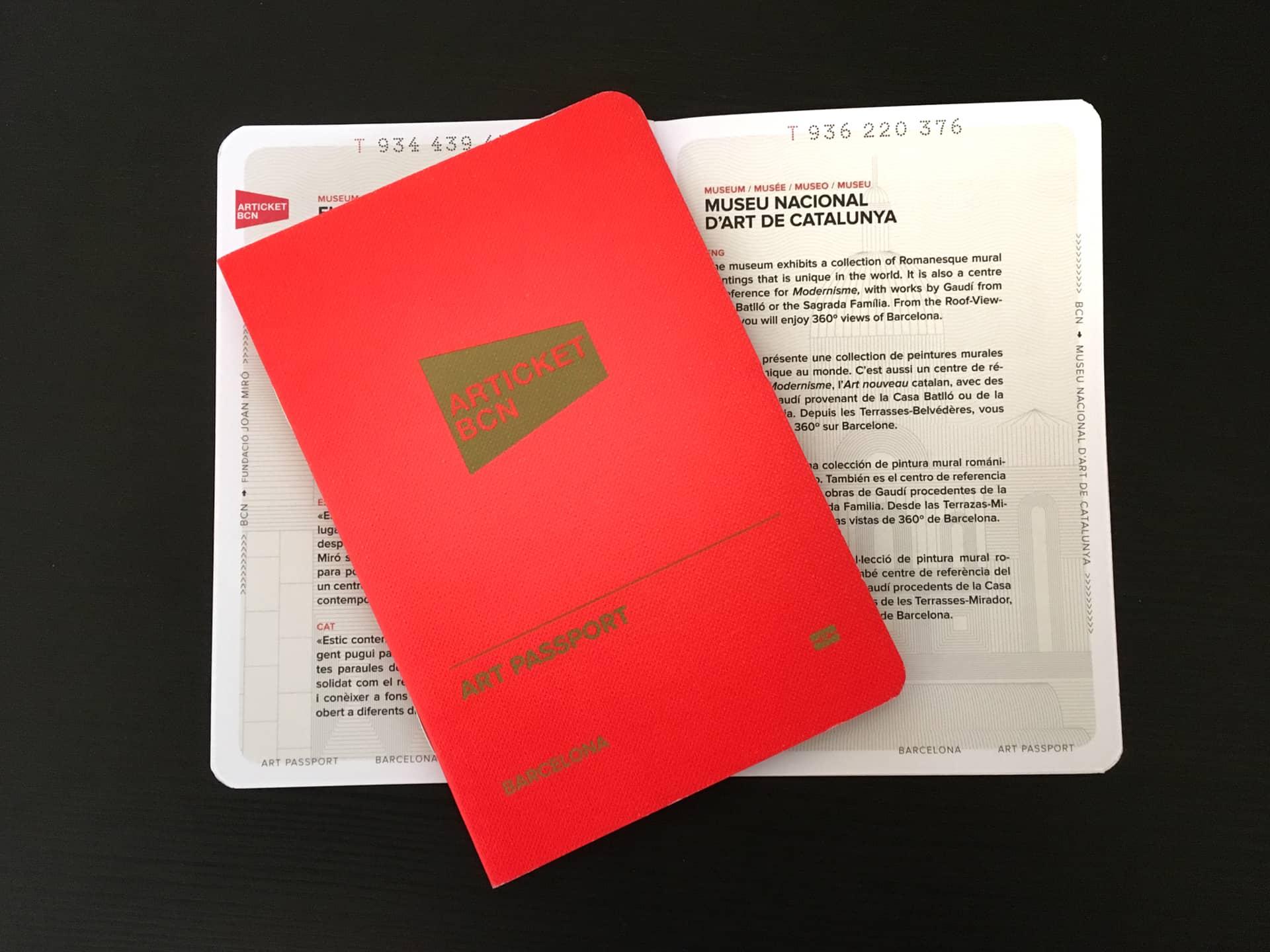 ARTICKET BCN - Barcelona Art Passport