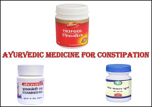 ayurvedic medicine for constipation