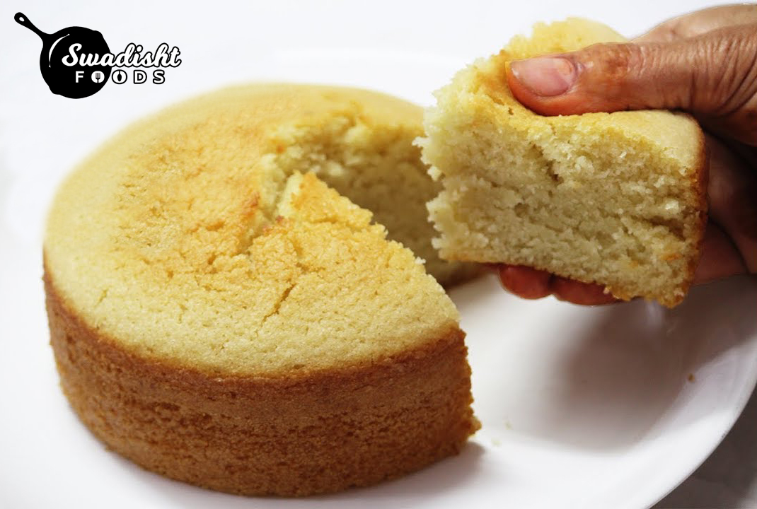 Sponge Cake made in cooker