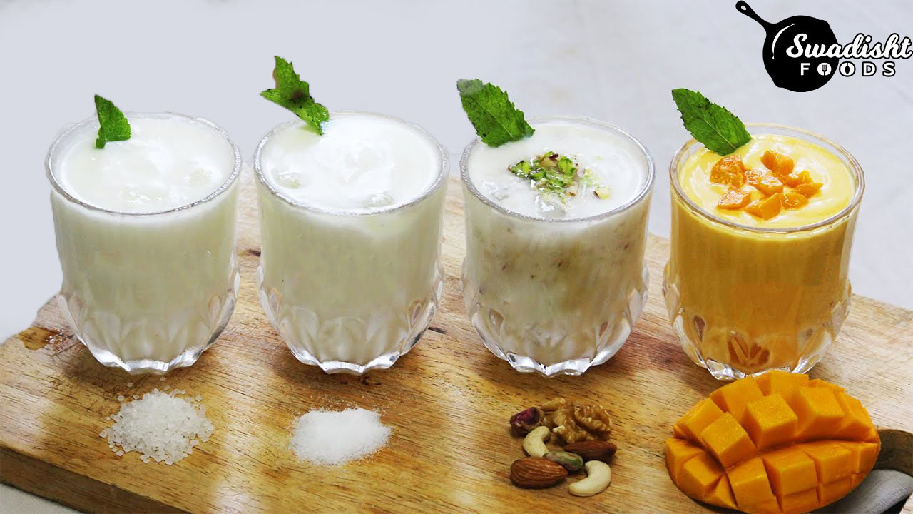 4 types of Lassi