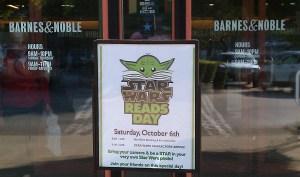 Promoting reading through Star Wars Books