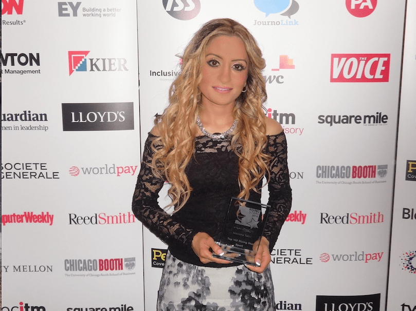 Manisha Tailor Rising Star in Sport - WeAreTheCity