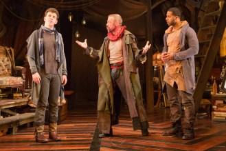 Adam Wesley Brown, Ian Merrill Peakes, and Romell Witherspoon (Teresa Wood)