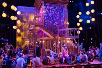 """The cast and audience at the intermezzo of """"The Taming of the Shrew."""" (Scott Suchman)"""