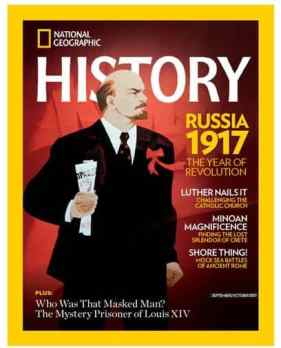 National Geographic History Magazine Deal