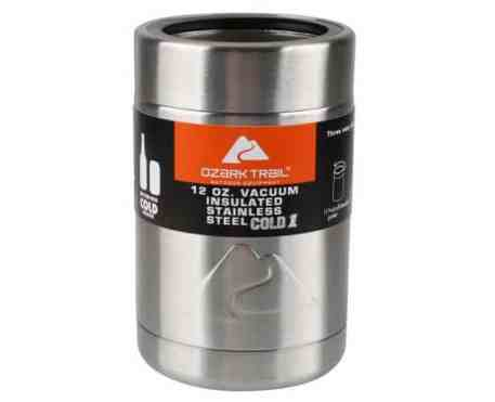 Ozark Trail 12-Ounce Vacuum Insulated Can Cooler
