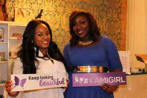 Kami Cosmetics Owner Kameka with host Shaunell(1)
