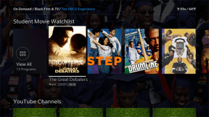 Xfinity's HBCU Experience On Demand