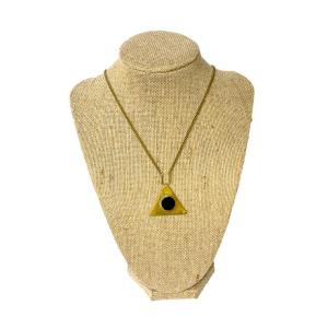 Fair trade necklace ethically handmade by empowered artisans in East Africa.