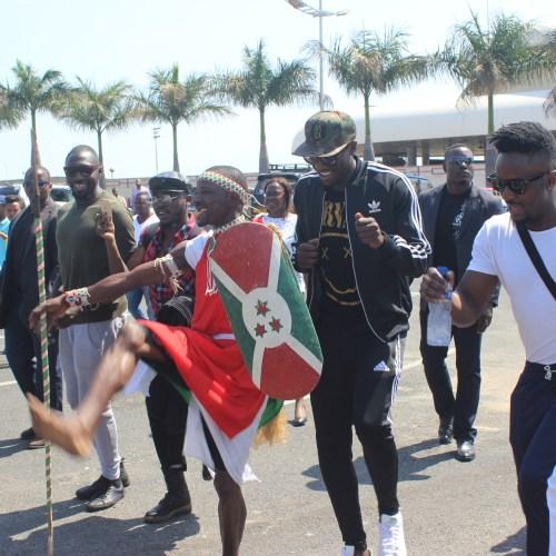 IMG 8091 News Mapokezi ya SAUTI SOL nchini Burundi