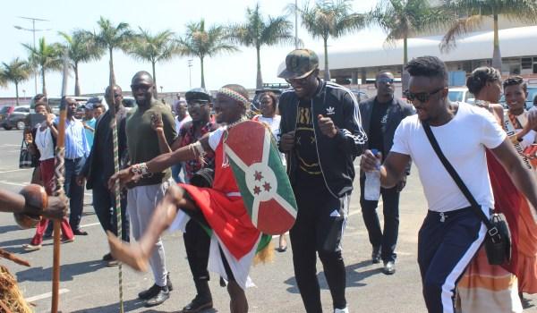 News│Mapokezi ya SAUTI SOL nchini Burundi