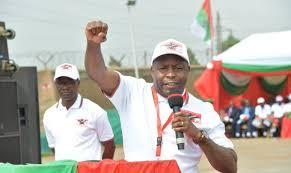EVARISTE Burundi Mgombea wa urais wa chama tawala nchini Burundi atambulika
