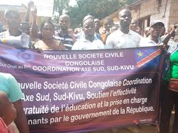 SHIRIKA LA KIRAIA DRC Uvira Mgomo wa kupinga inchi kupelekwa na wageni waandaliwa na shirika jipya la kiraia
