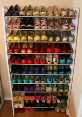 home goods shoe rack absurd storage
