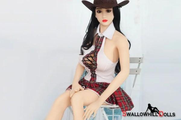 cowboy hat beata life like sex doll