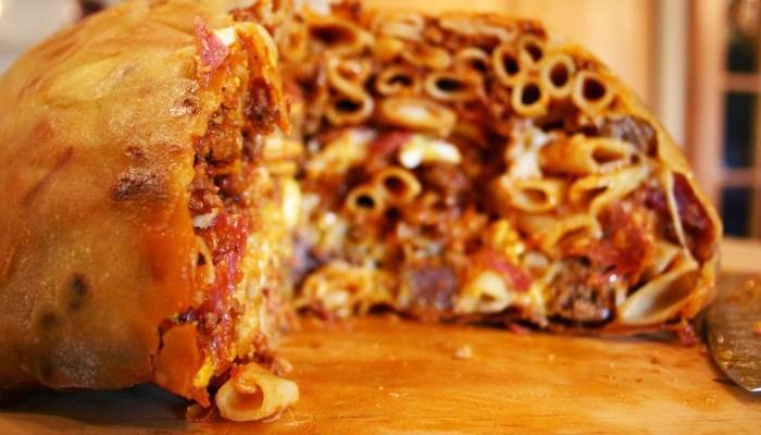 A Big Night Birthday Feast – Timpano!