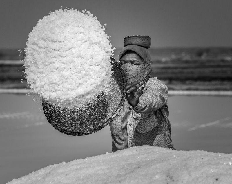 Die Salzarbeiter von Gujarat