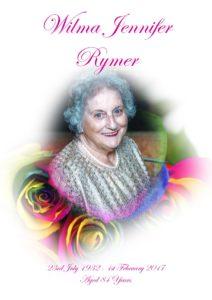 Wilma Jennifer Rymer