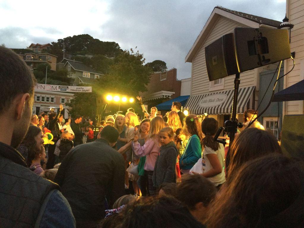 Neon Velvet in Tiburon