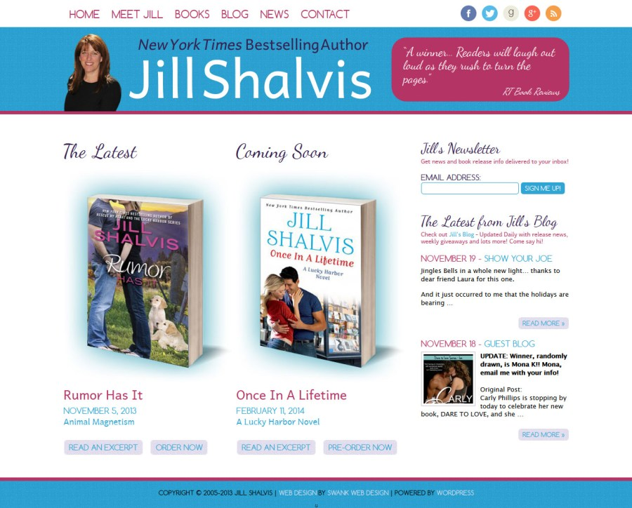Author Jill Shalvis