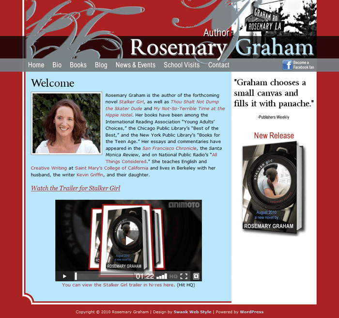 Author Rosemary Graham
