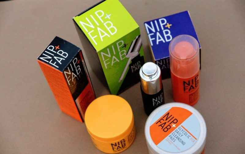 Assortment of Nip + Fab Skin Care Products