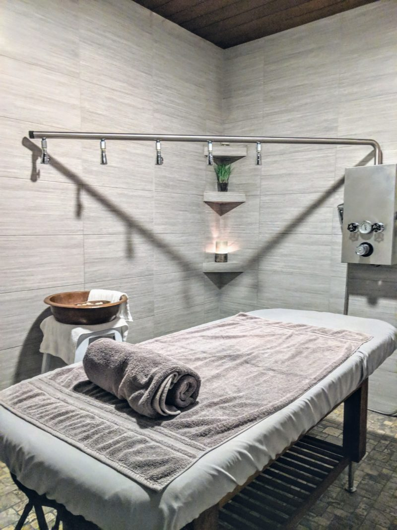 Treatment Room At Hiatus Spa