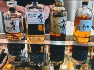 Mastro's Japanese Whiskey Flight