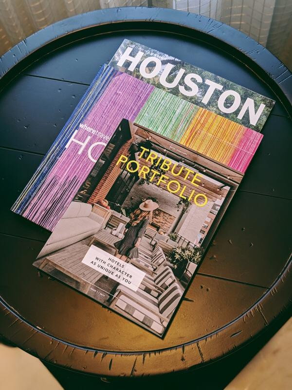 Magazines At Magnolia Hotel
