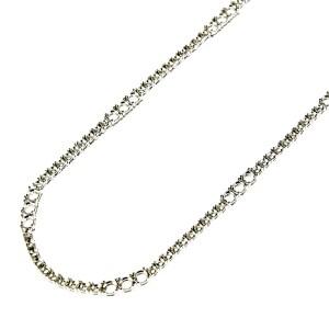 3 Big Stones in-between Fashion Tennis Necklace