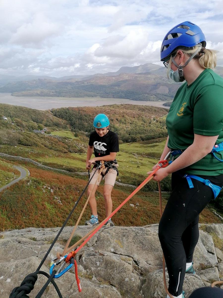 Rock Climbing Swansea Adventures