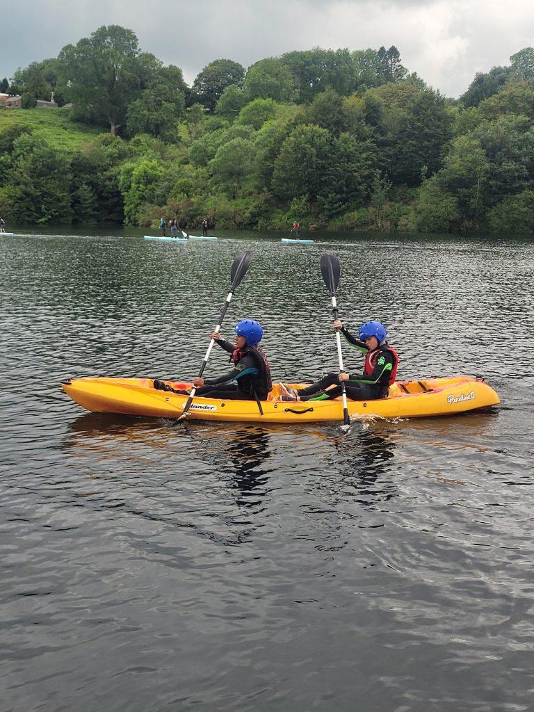 kayaking Swansea