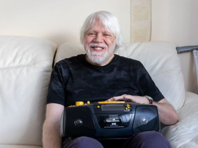 British Wireless for the Blind Fund provides visually impaired people with a free audio device.