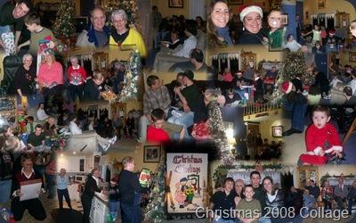 Christmas 2008 Collage