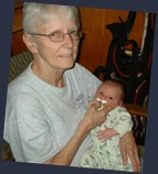 Grandma Chris and Roman Axel Lorion