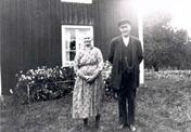 Emma and Carl in Barnarp