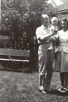 Edith Mattson Bidell and family