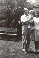 Edith Mattson Bidell and family