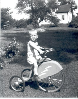 George as a young boy