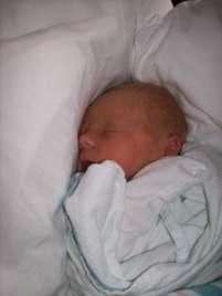 Baby Brayden Sleeping