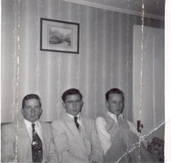 Ed, George & Phil-just a 'few' years ago