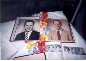 Phil's high school and Bible school grad pix