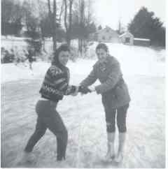 1963 Tillie Ingrid candlelight pond skating