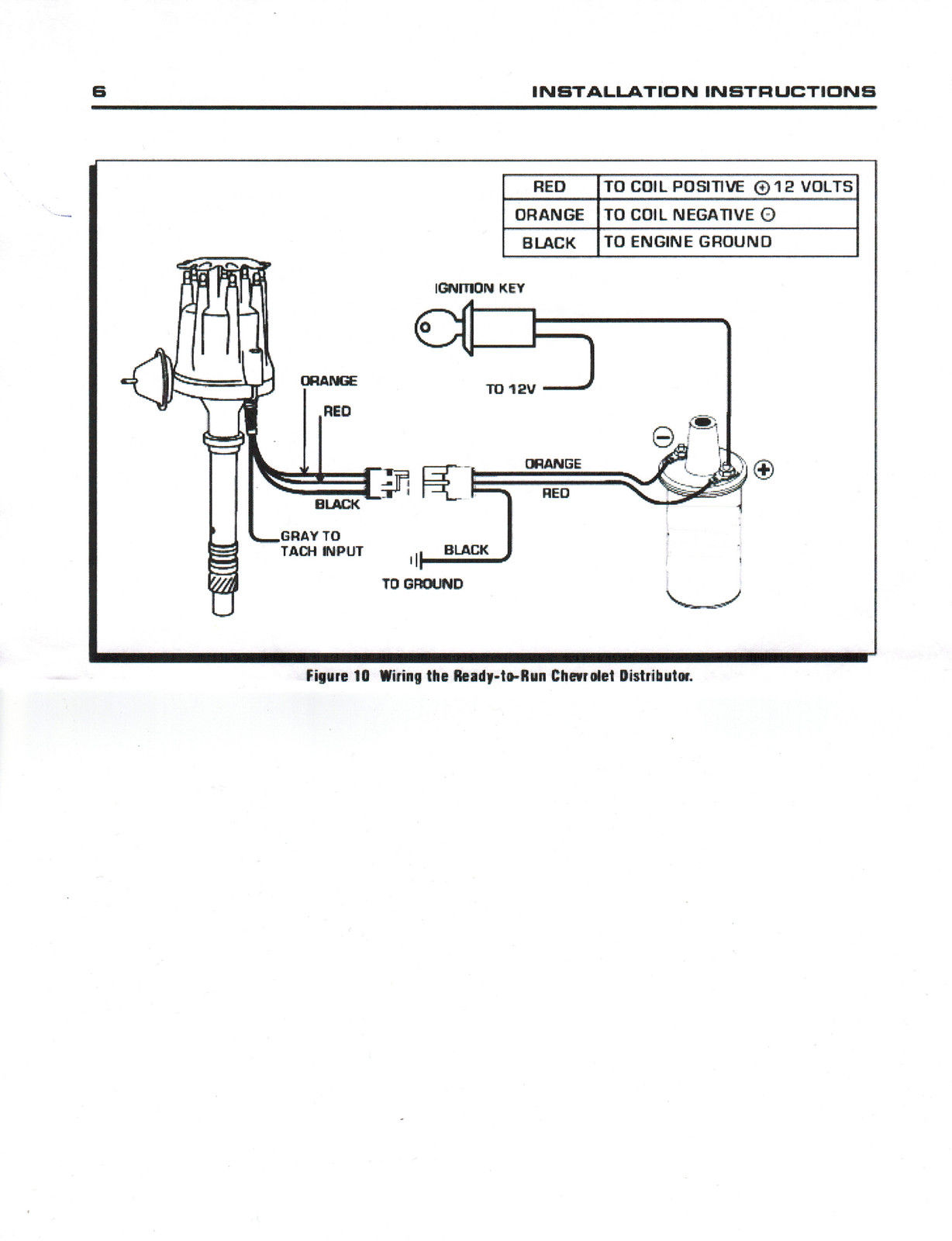 Ford 351w Windsor Pro Series Small Hei Distributor Black