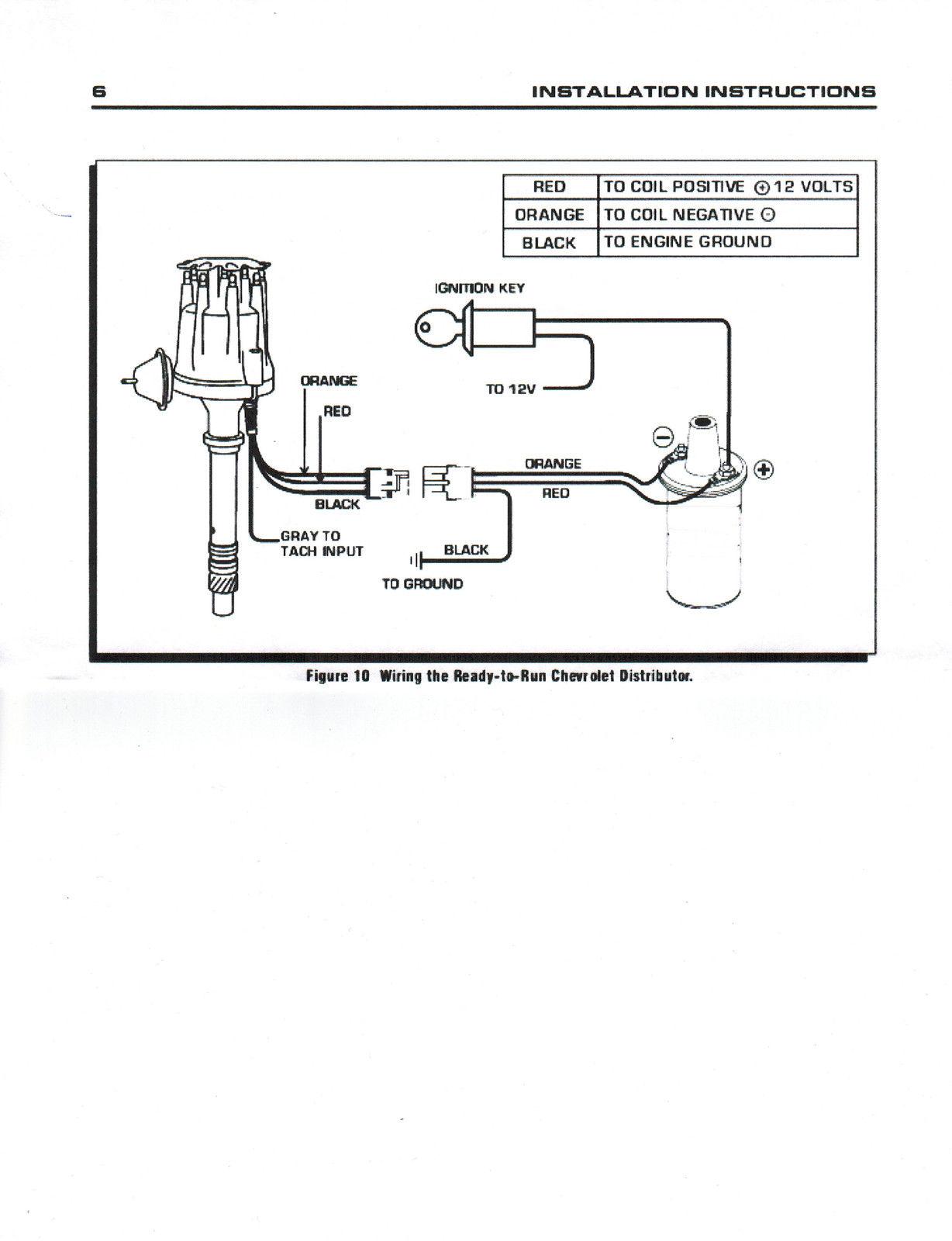 Small Cap Ford Fe 332 352 360 390 406 410 427 Amp 428 Blue Hei Distributor Black Coil Plug